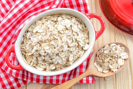 Flakes Copos De Avena Foto de stock y más banco de imágenes de Agricultura