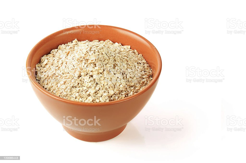 Oat in a bowl royalty-free stock photo