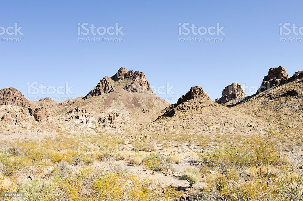 Oatman Arizona Outskirts stock photo