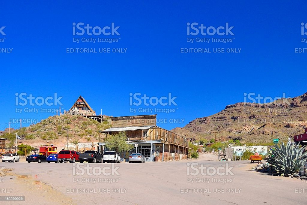Oatman Glory Hole Bar stock photo