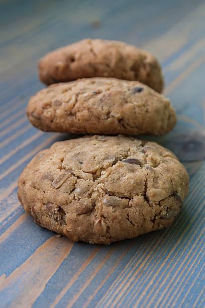 haferflocken-cookies. - 3 zutaten kuchen stock-fotos und bilder