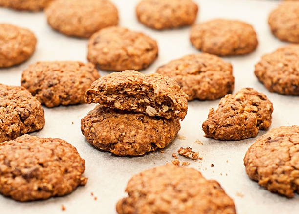 Oatmeal Cookies stock photo