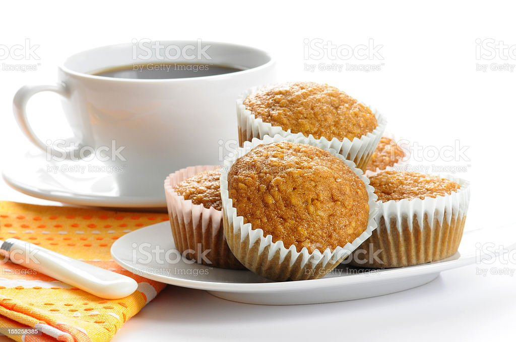 Oatmeal Muffins royalty-free stock photo