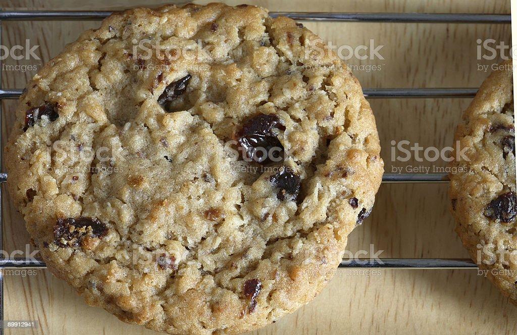 Oatmeal Raisin Cookies royalty-free stock photo