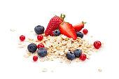 istock Oats, fruits and honey. 638920580