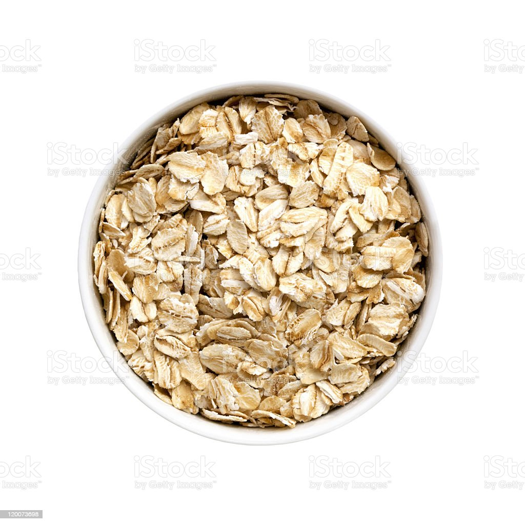 Oats (with Path) royalty-free stock photo