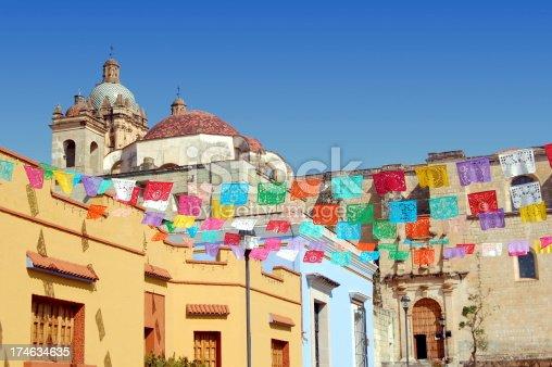 Santa Domingo church in Oaxaca, Mexico.
