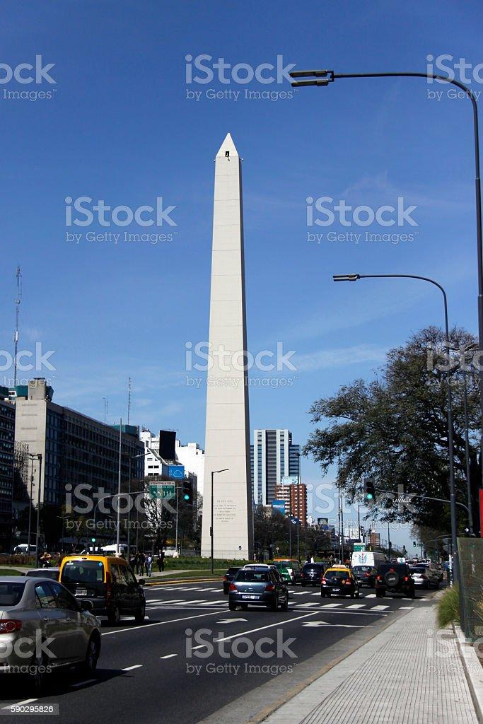 obelisk in Buenos Aires Стоковые фото Стоковая фотография