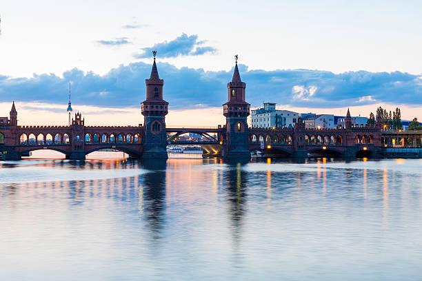 Oberbaumbrücke stock photo