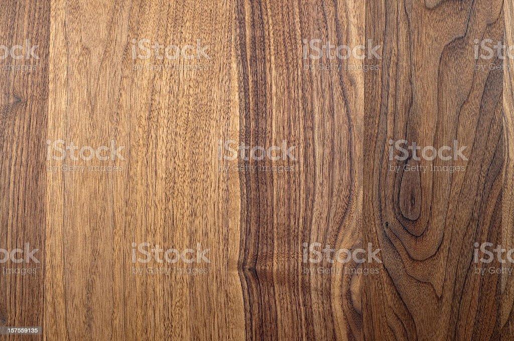 oberfläche eines nussbaum tisches royalty-free stock photo