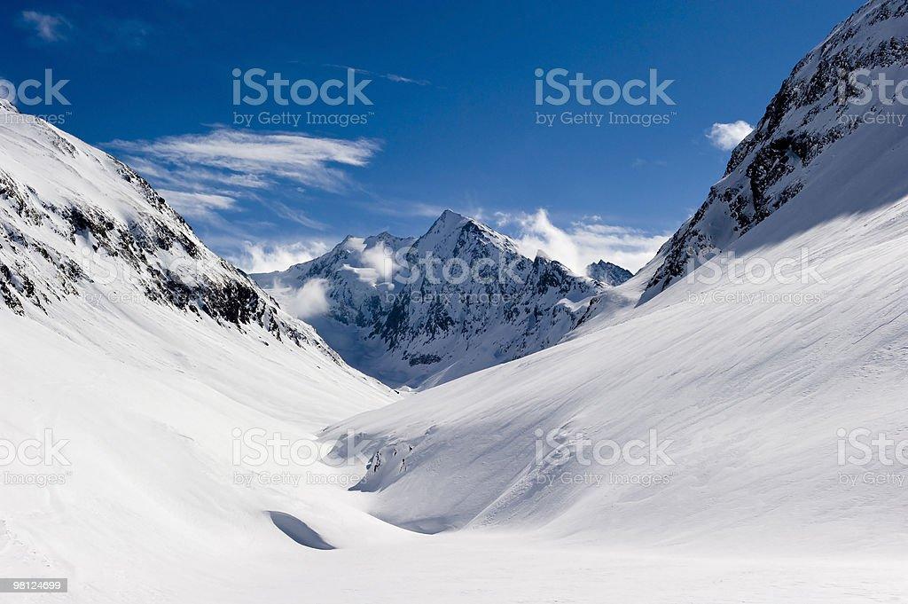 Obergurgl in Austria royalty-free stock photo