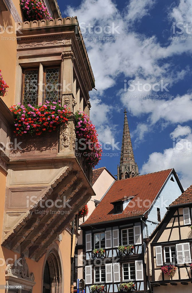 obernai stock photo