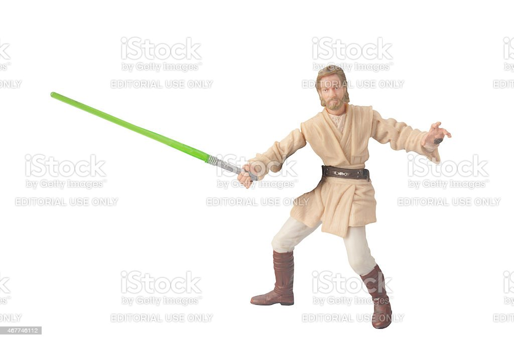 Obi Wan Kenobi Figurine stock photo