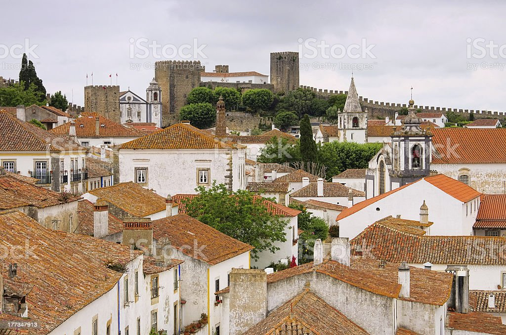 Obidos royalty-free stock photo