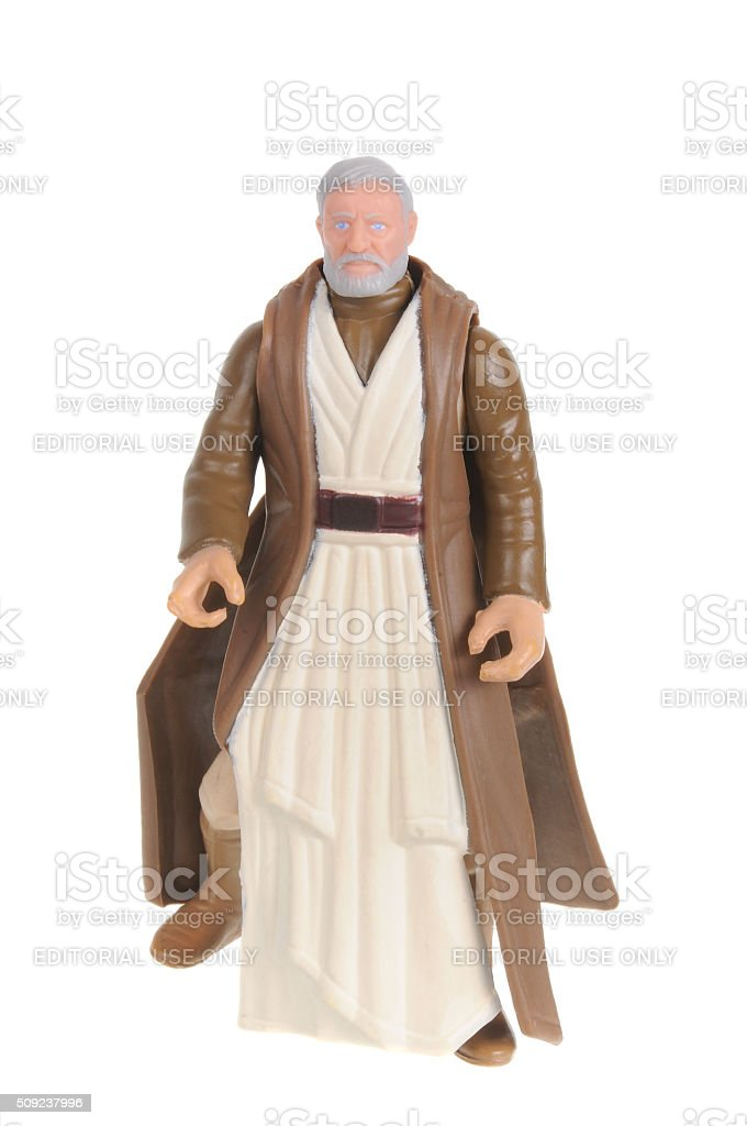Obi-Wan Kenobi Action Figure stock photo