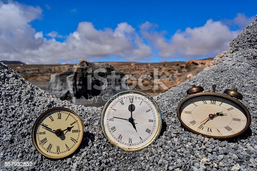 816405814 istock photo Object in the Dry Desert 857932852