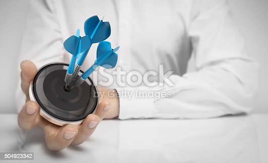 istock Objective Attained Concept 504923342