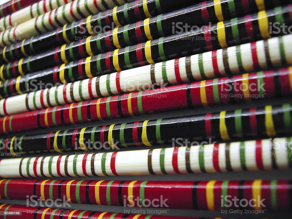 Objects - Chopsticks 04 royalty-free stock photo