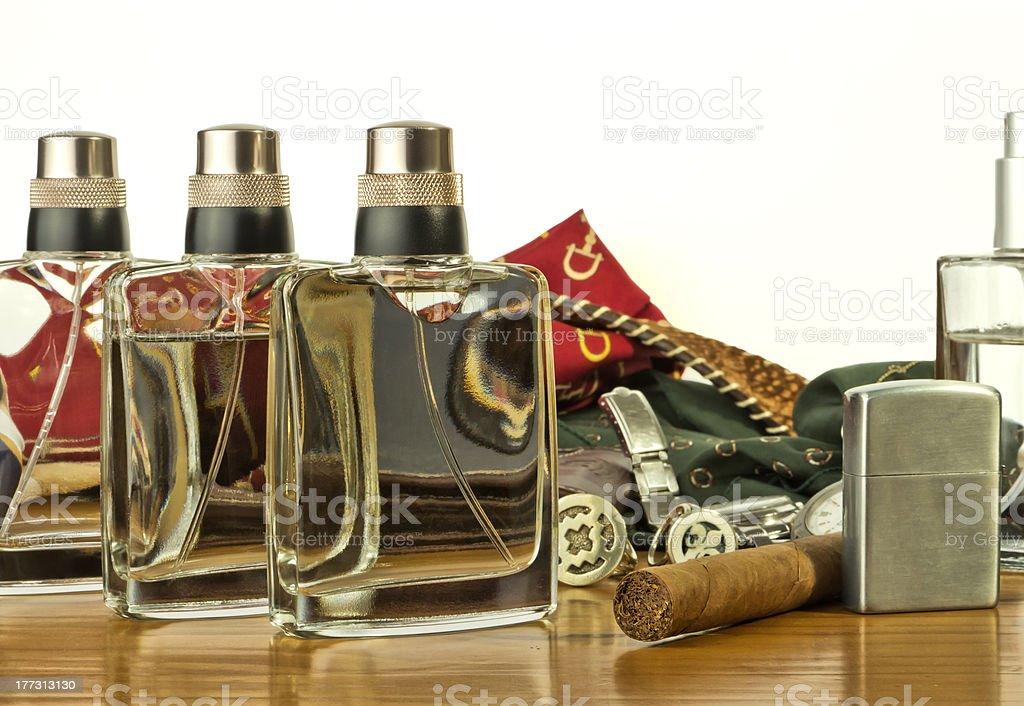 Objects fashion mens royalty-free stock photo