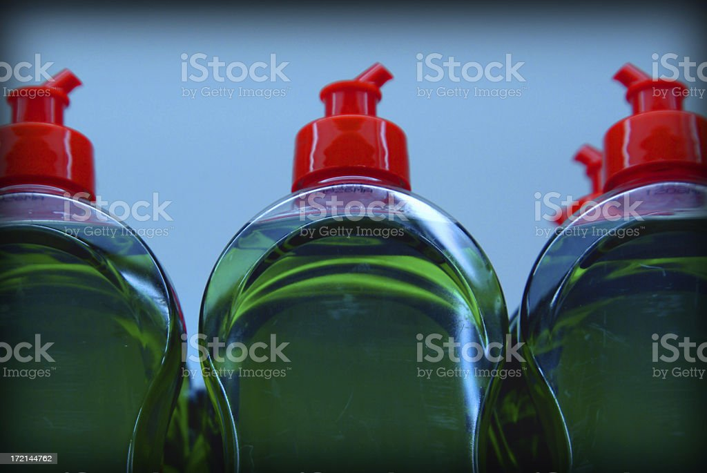 objects: green soap royalty-free stock photo