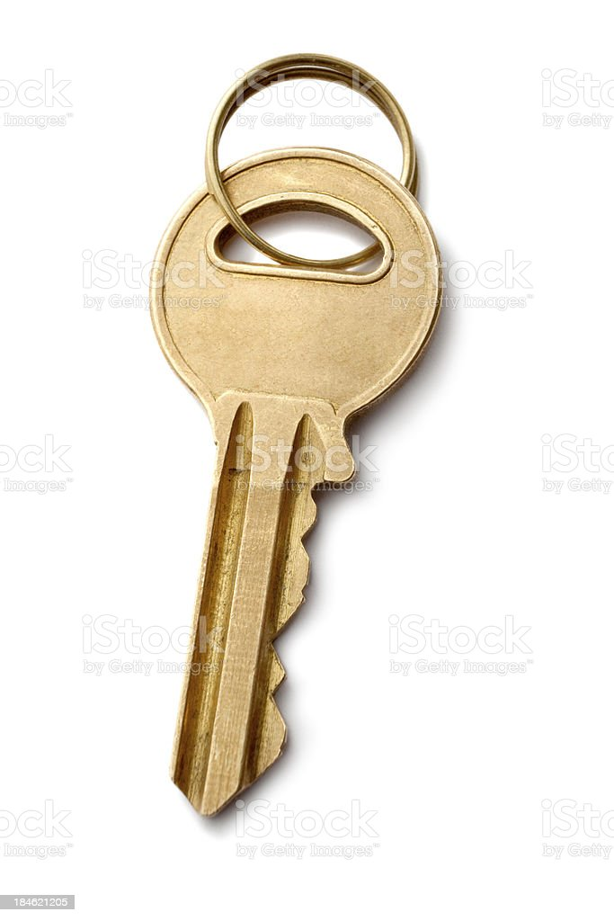 Objects: Key stock photo