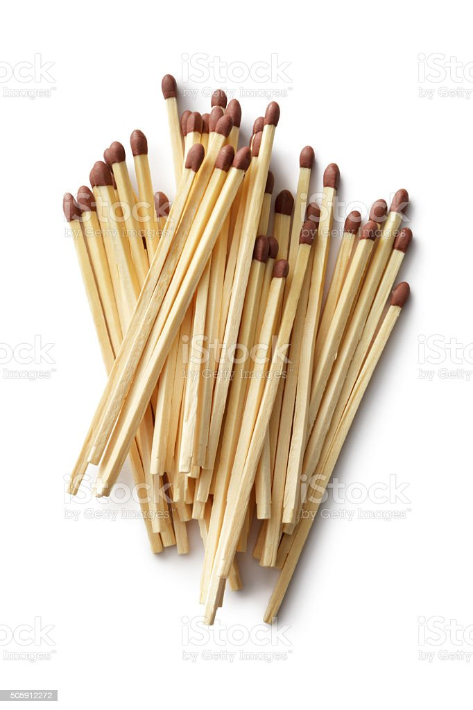 Objects: Matches stock photo