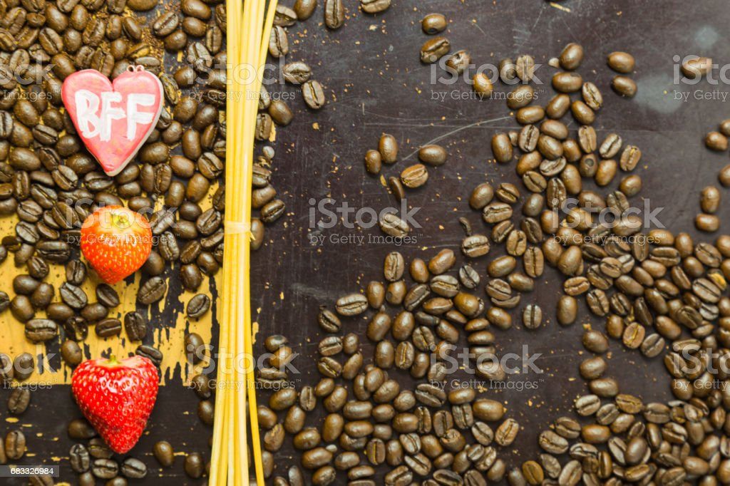 Objects on scratchy wooden surface foto stock royalty-free