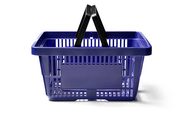 Objects: Shopping Basket More Photos like this here... shopping basket stock pictures, royalty-free photos & images