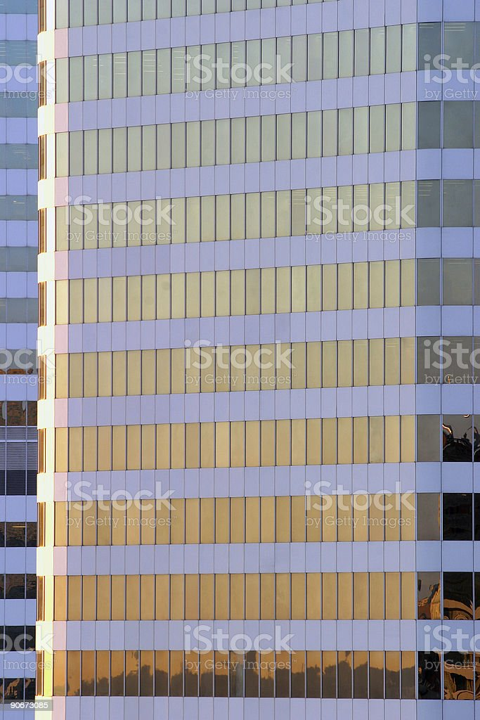 Objects - Skyscraper sunrise royalty-free stock photo