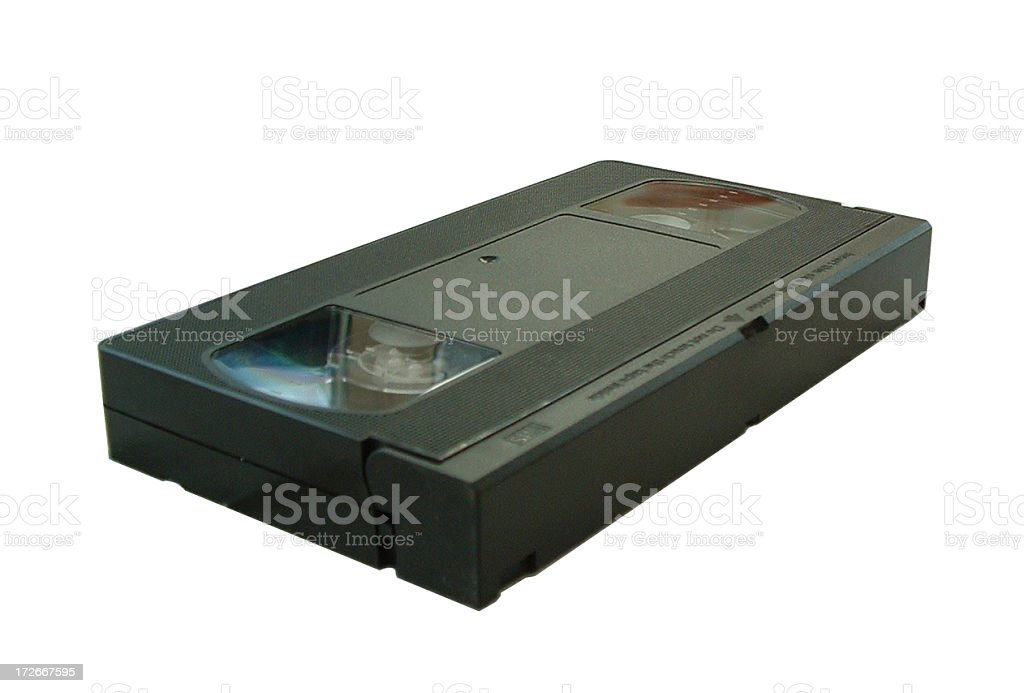 Objects - VHS Video Cassette royalty-free stock photo