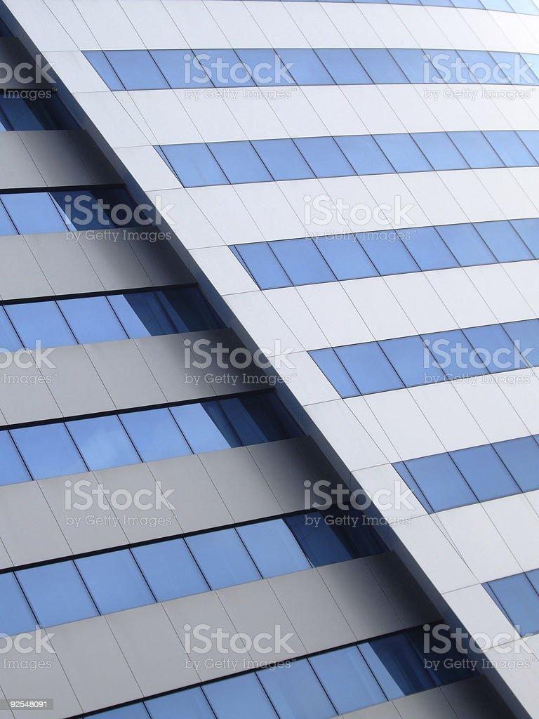 Oblique cut royalty-free stock photo