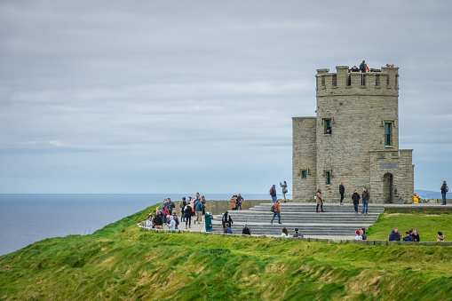 OBriens Tower at the Cliffs of Moher, Ireland