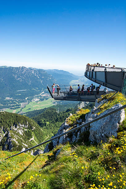 Observation deck in the alps – Foto