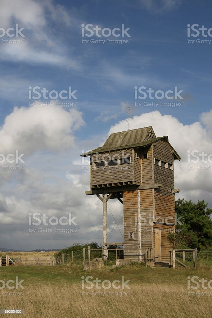 Observation tower royalty-free stock photo