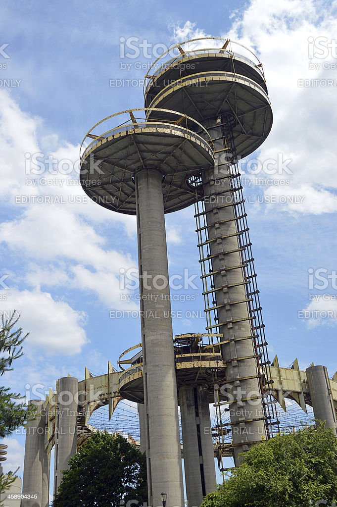 Observation Towers royalty-free stock photo