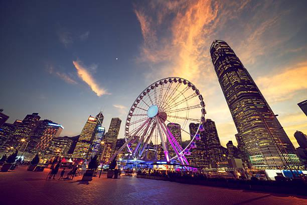 Observation roue, Hong Kong - Photo