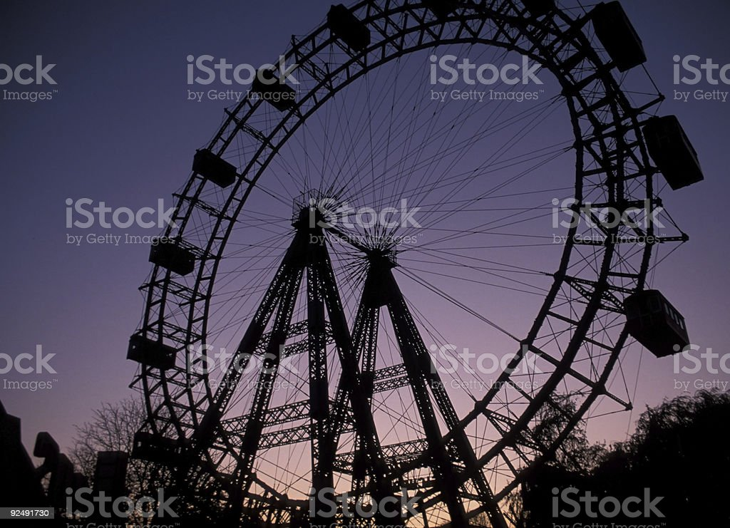 Observation Wheel royalty-free stock photo