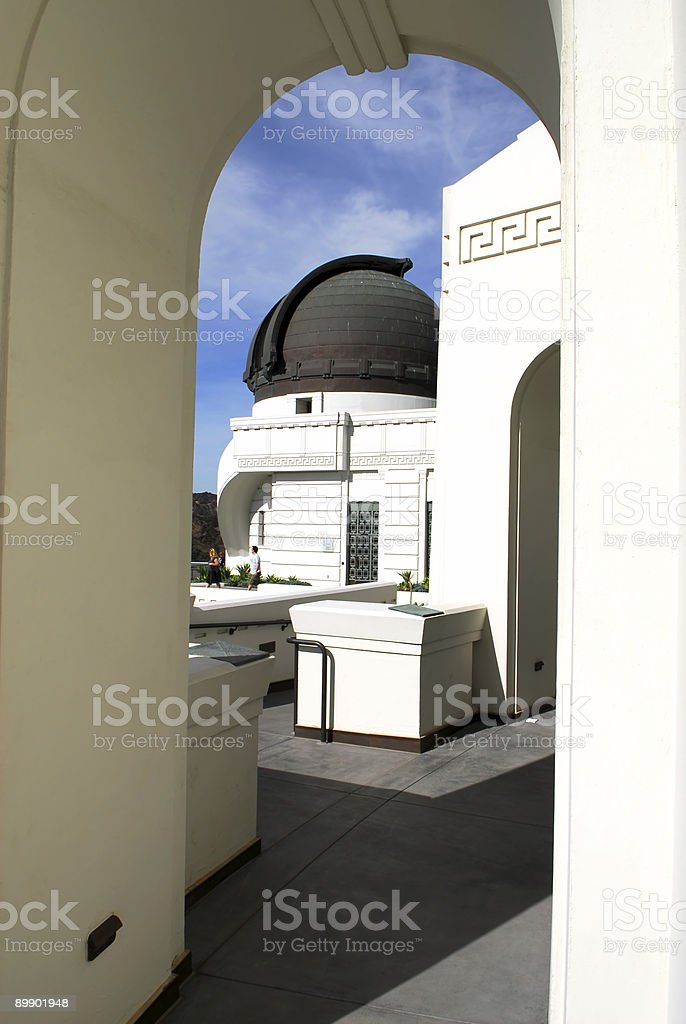 Observatory Dome royalty-free stock photo