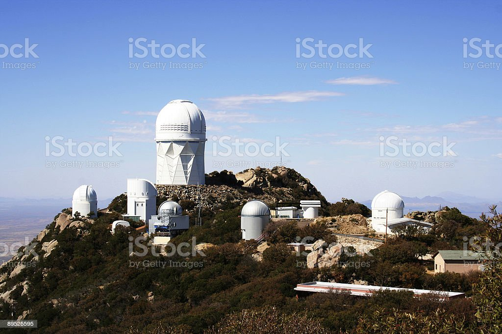 observatory mountain royalty-free stock photo