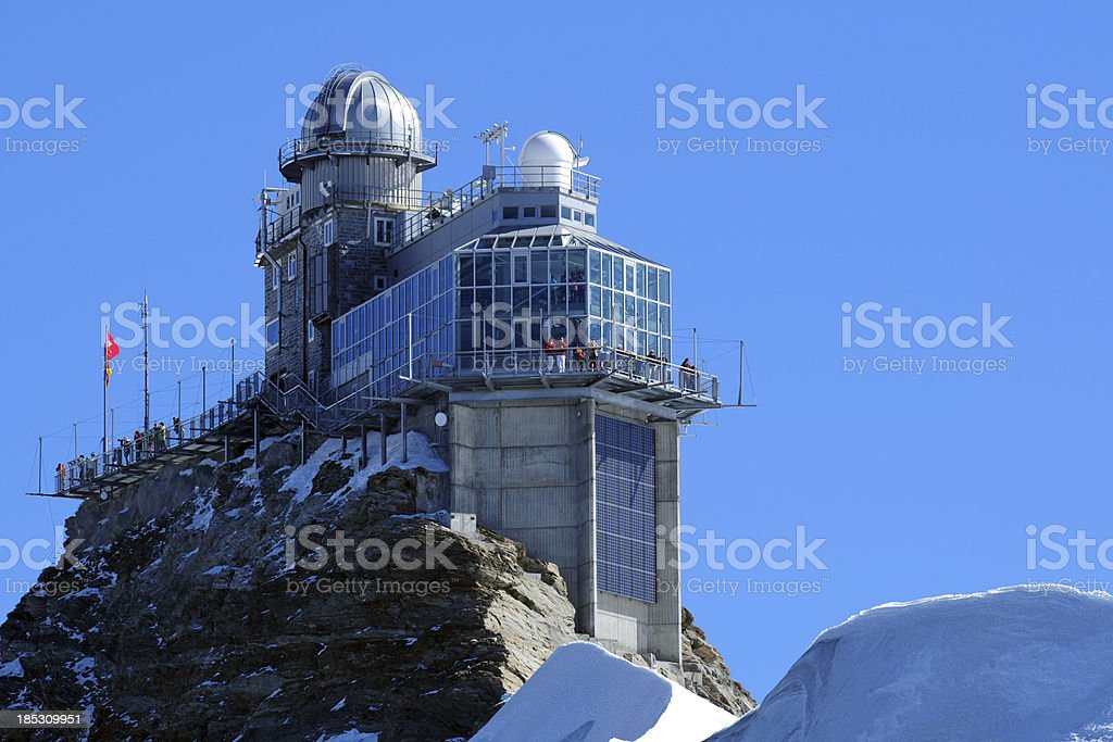 Observatory On Mountain - XLarge stock photo