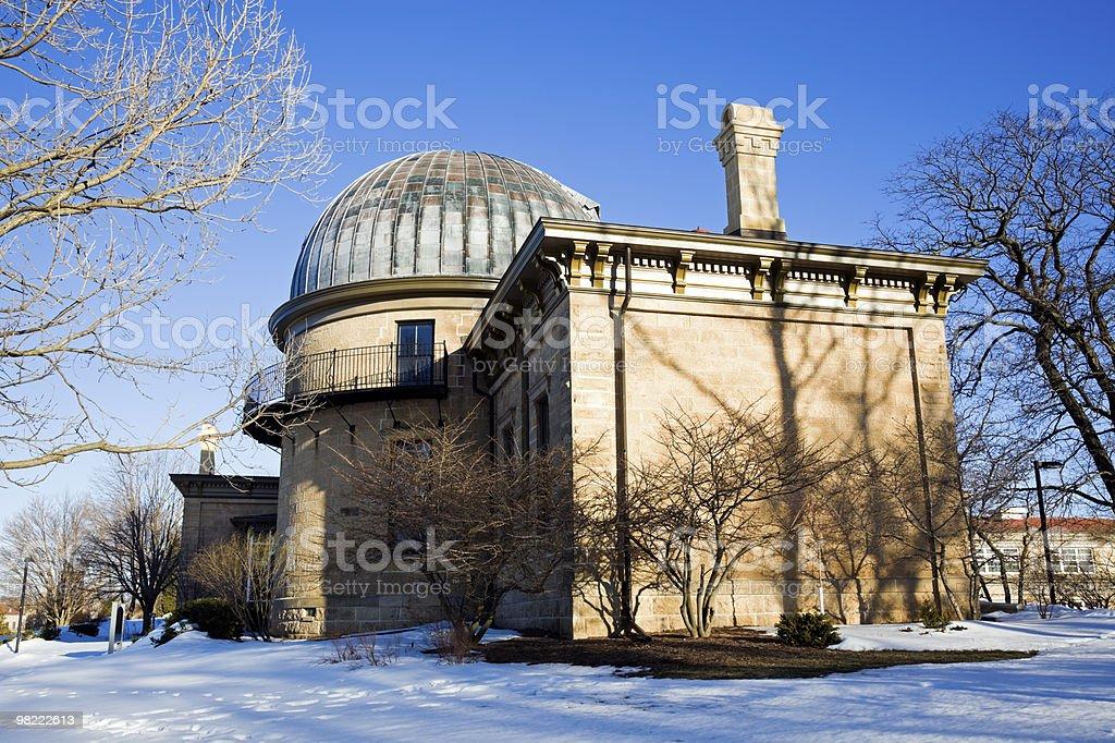 Osservatorio foto stock royalty-free