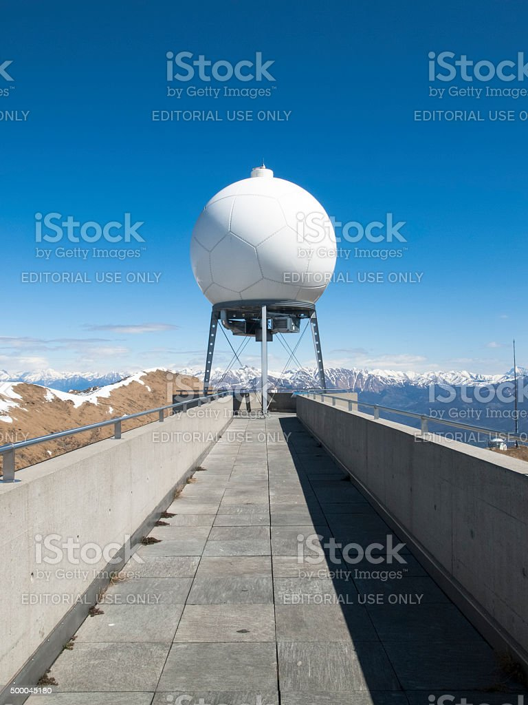 Observed weather stock photo