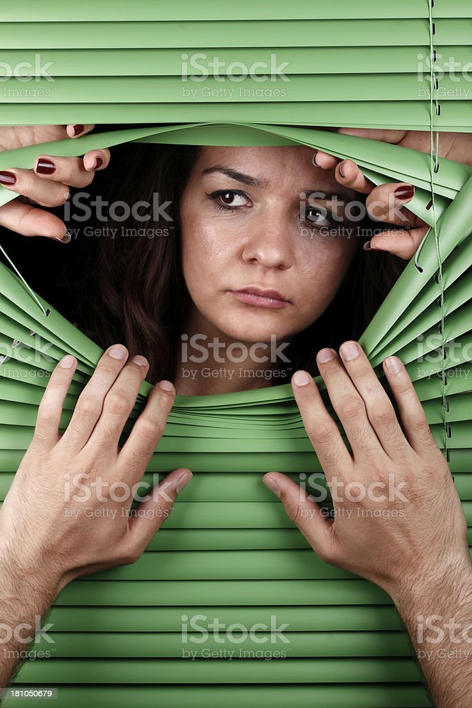 Observer royalty-free stock photo
