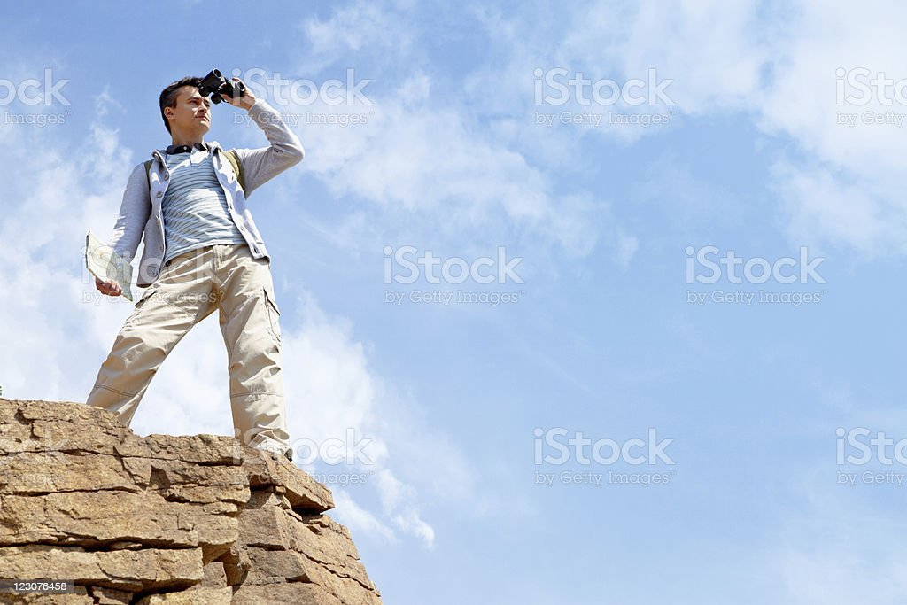 Observing area royalty-free stock photo