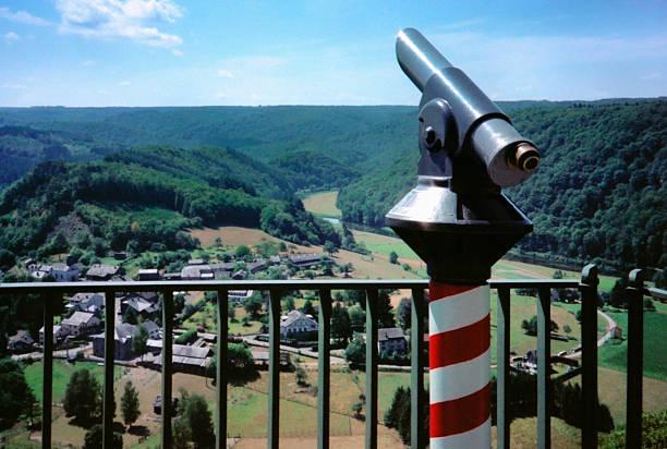 observing the ardennes - maasvallei stockfoto's en -beelden
