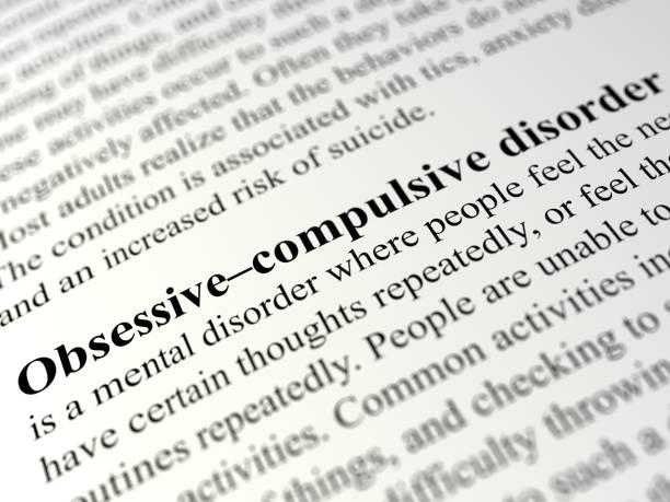 obsessive-compulsive disorder - definition krankheit stock-fotos und bilder