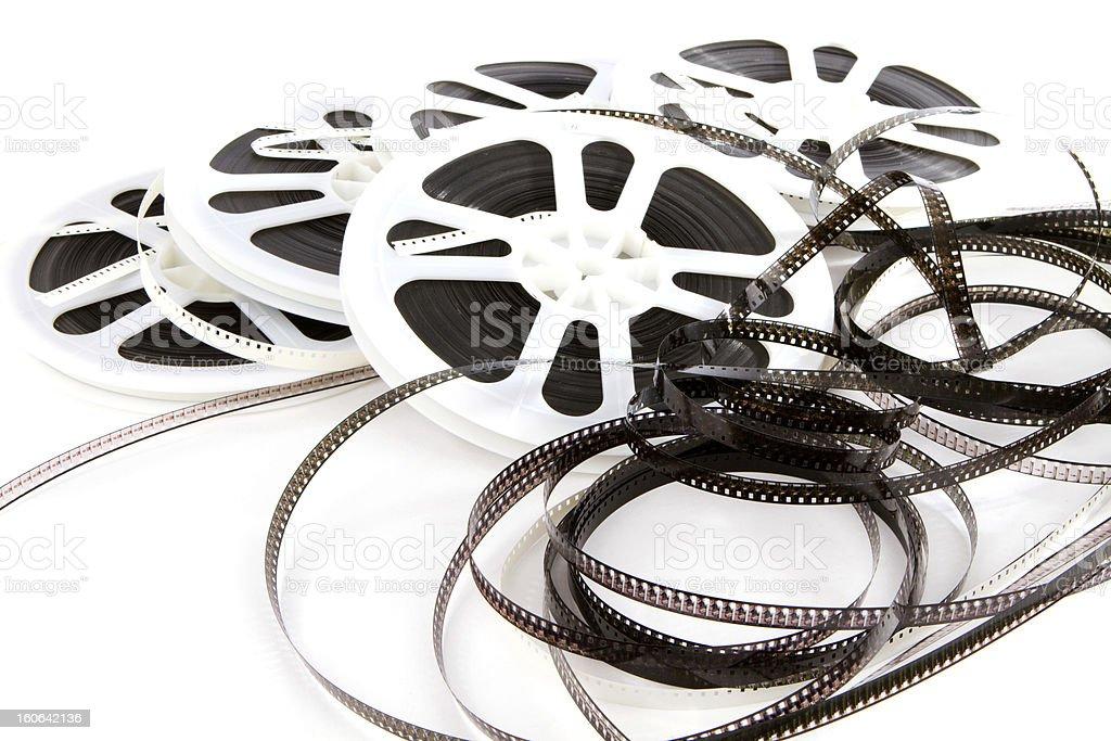 Obsolete Film Media stock photo