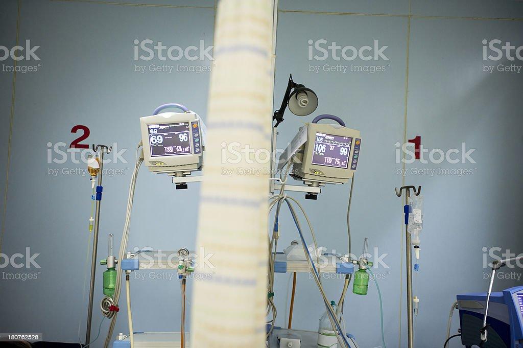 Obsolete Hospital Equipment royalty-free stock photo