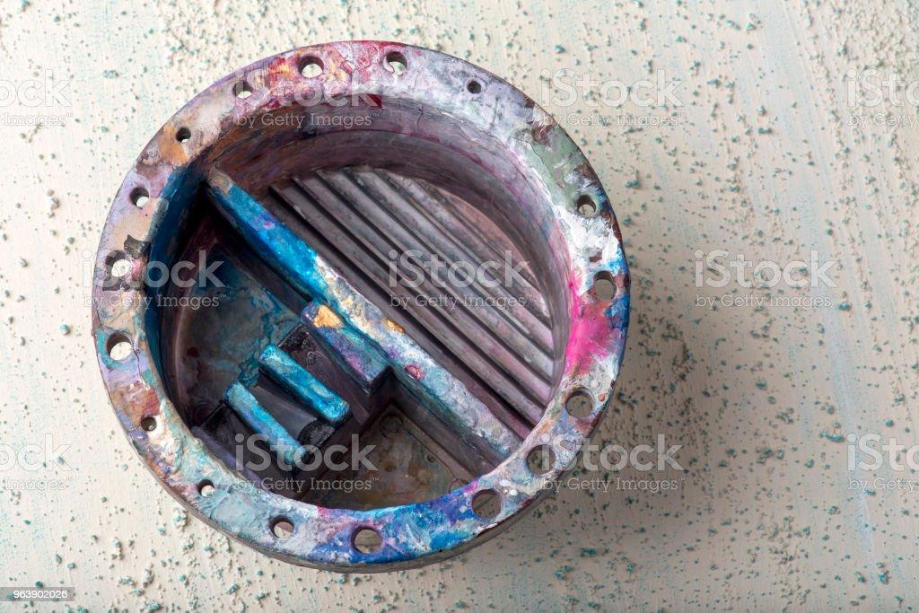 Obsolete paint box - Royalty-free 2018 Stock Photo