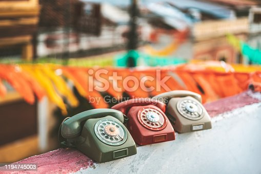 Telephone, Old, Concepts, Obsolete, Day